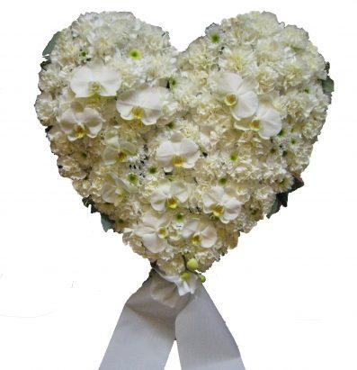 Hvit Hjerte