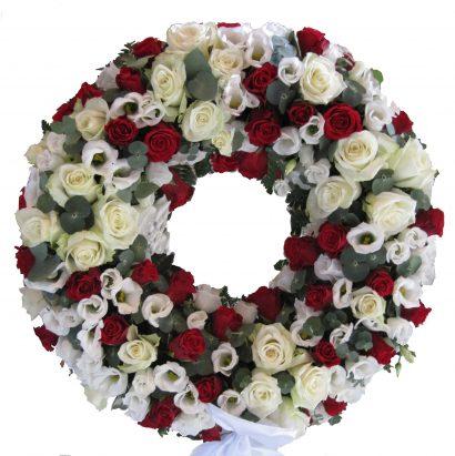 Rode Roser Og Hvit